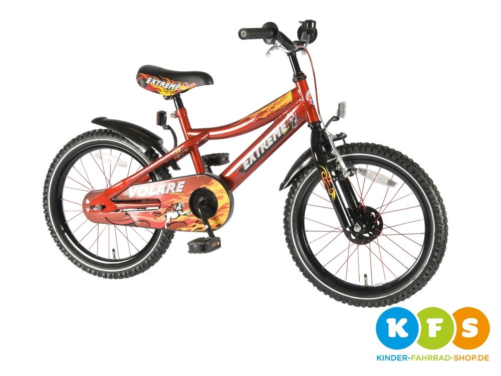 kinderfahrrad 18 zoll kinder mountainbike kids mtb ab 4. Black Bedroom Furniture Sets. Home Design Ideas